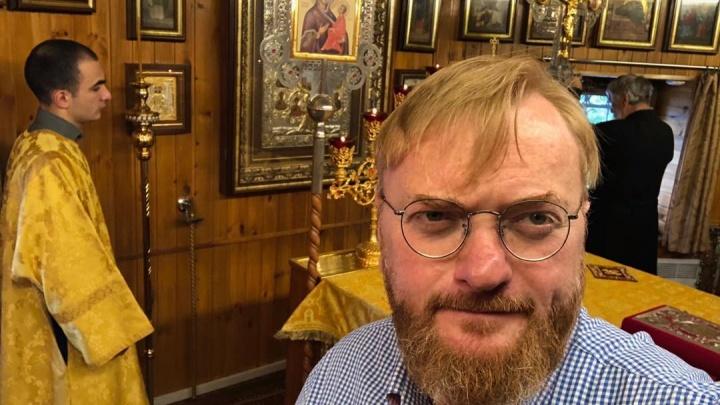 Виталий Милонов предложил назвать именем Егора Летова самолёт «Аэрофлота»