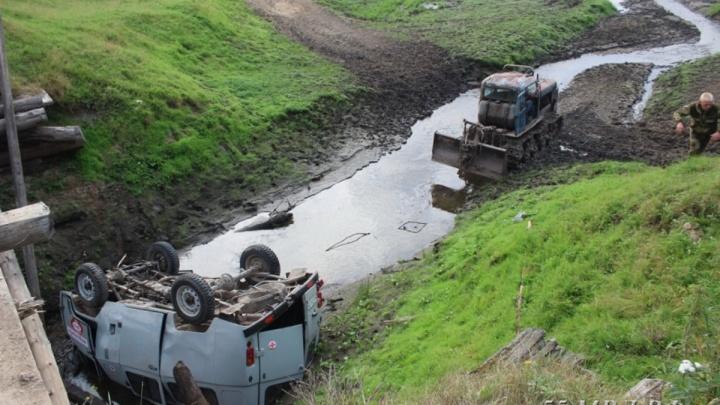 После вчерашней аварии шесть омских деревень, отрезанных Иртышом, остались без своей скорой
