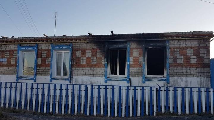 Под Тюменью на пожаре погибла 91-летняя женщина