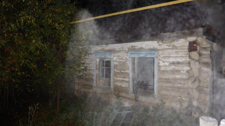 За одну ночь в пожарах в Башкирии погибли четыре человека