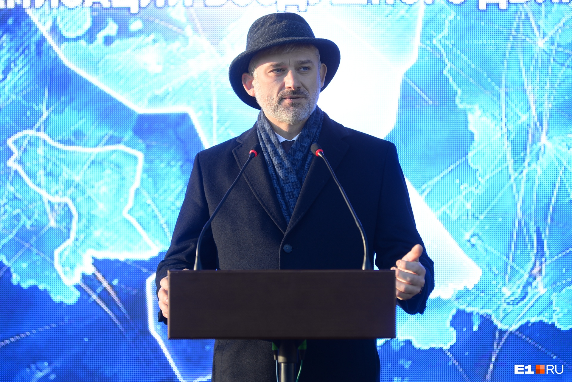 На открытие приехал министр транспорта России Евгений Дитрих