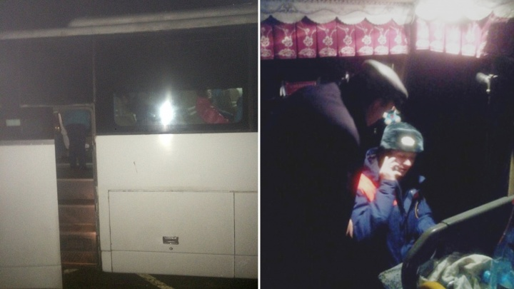 «Машина сломалась из-за коррозии»: перевозчик прокомментировал поломку автобуса Курган— Сургут