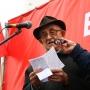 Красные флаги и гневные речи: смотрим, как в Самаре у«Ракеты» протестовали против мусорной реформы
