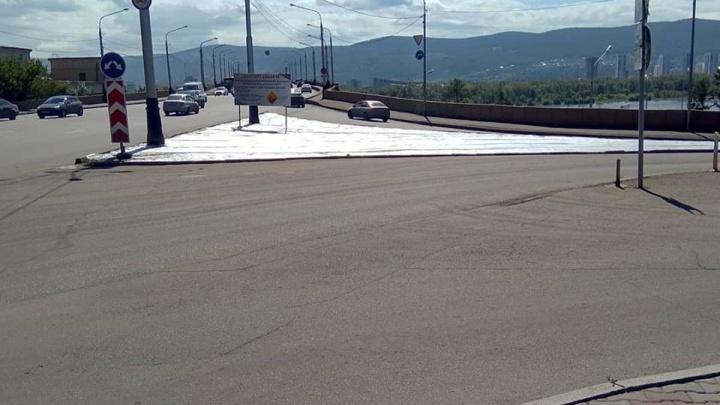«Народную тропу» к Коммунальному мосту решили засадить газоном