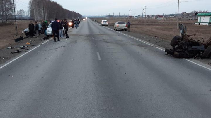 Машины разорвало на куски: на трассе под Уфой произошла смертельная авария