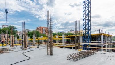 Сити-квартал под присмотром Сталина: строительство идет полным ходом