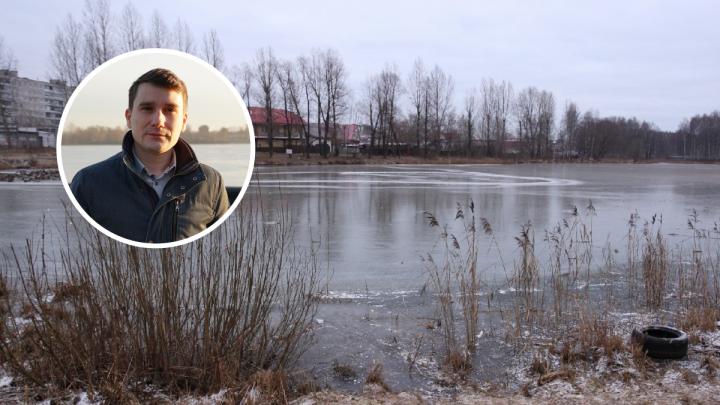 «Люди рядом были, но никто не бросился»: ярославец рассказал, как спас провалившихся под лед детей