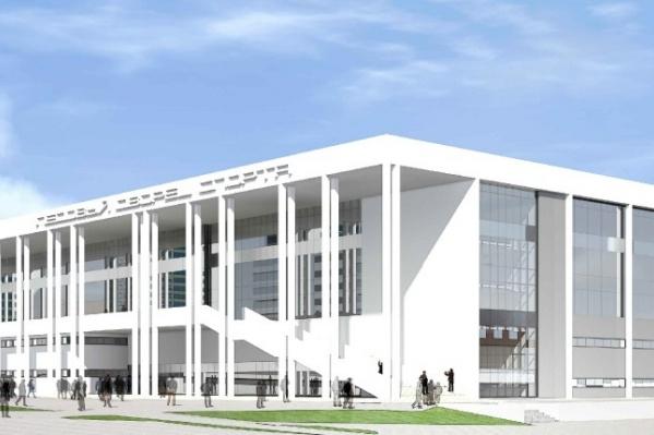 Предполагаемый вид нового здания