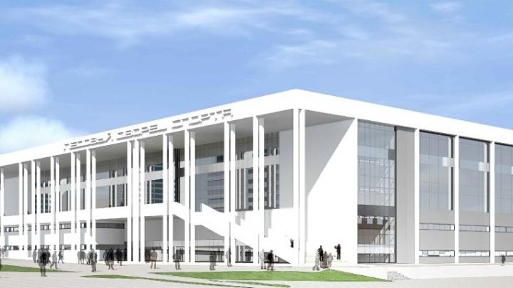 Строительство нового дворца спорта на Молодогвардейской хотят начать в октябре