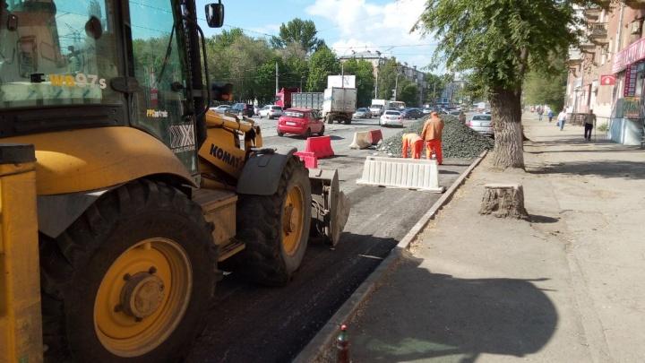 «Нужно потерпеть»: водителей просят не парковаться на улице Победы в Самаре из-за ремонта дороги