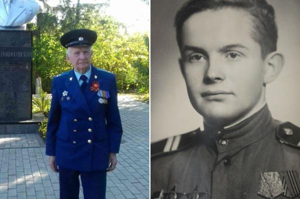 Михаилу Ветошкину исполнилось 95 лет. Он прошёл Курскую битву, освобождал Украину и участвовал в боях за Берлин