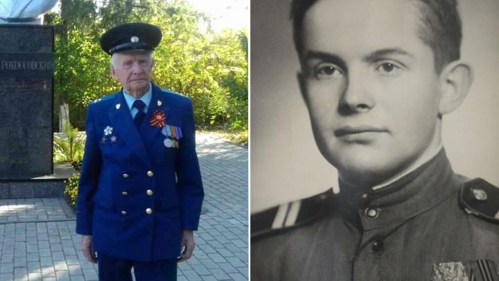 Участник Курской битвы отметил 95-летний юбилей в Красноярске