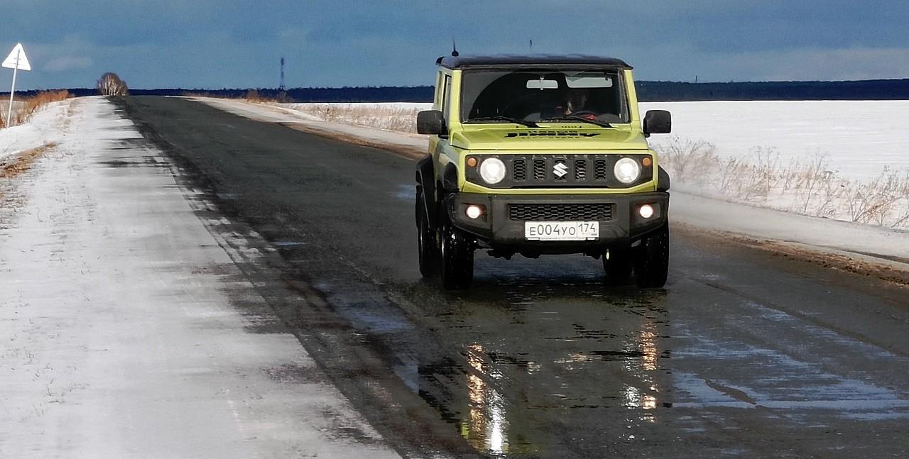 Стабильность на скользкой дороге возрастает при включении полного привода, но пропорционально падает отзывчивость машины при резких переставках
