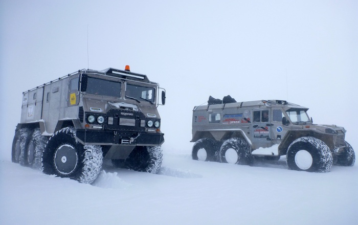 Техника уже отправлена морем в сторону Антарктиды