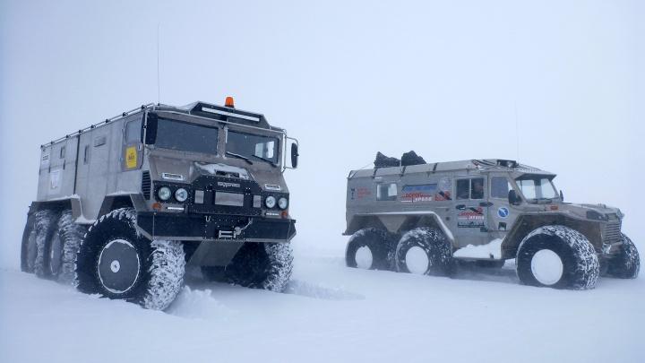 Известный путешественник покорит Южный полюс на технике, собранной уральским инженером