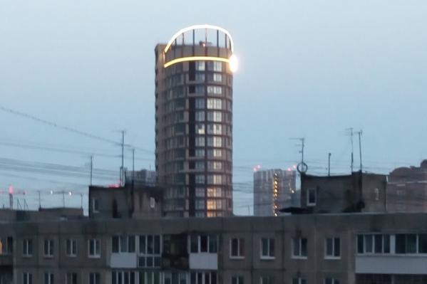 Подсветка работает даже в четыре часа утра