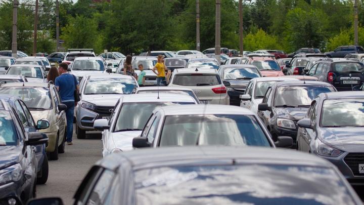 На улице Физкультурной хотят сделать огромную автостоянку