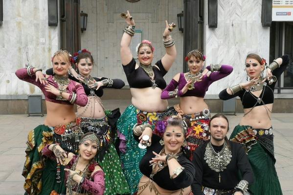 Сибирские танцоры снимали видео для международного флешмоба, когда на улице было всего +13