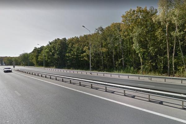 Дорога пойдет в сторону от Волжского шоссе на 500 метров