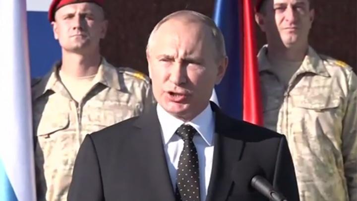 Самые опасные террористы разгромлены: Путин приказал вывести войска из Сирии