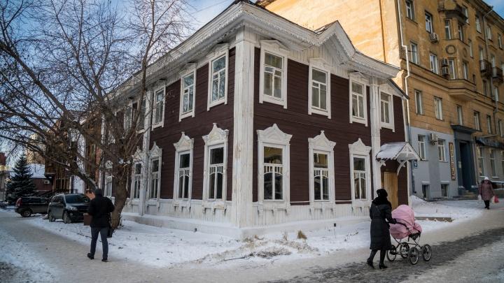 Как новенькая:у легендарной пельменной на Советской обновили фасад