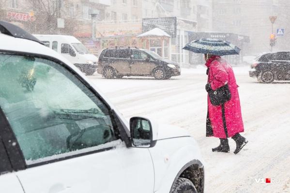 У волгоградцев появилась надежда на снежный Новый год