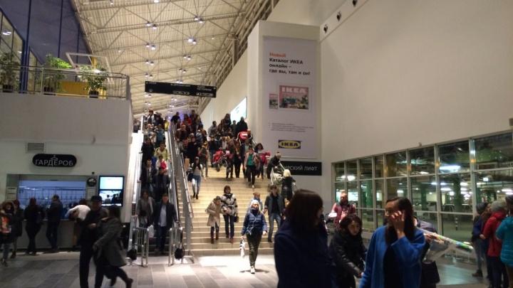 Посетителей уфимского ТРЦ «Мега» снова эвакуировали