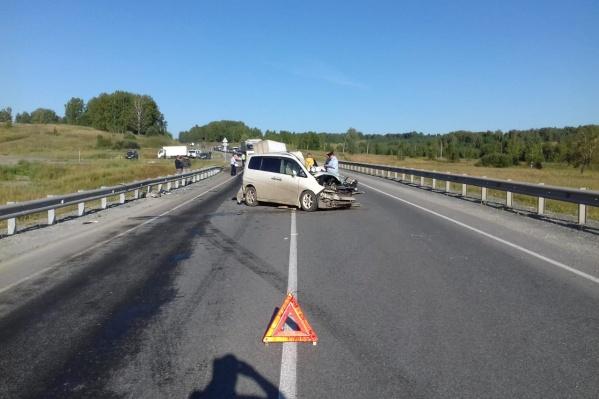 Смертельное ДТП случилось в 28 километрах от Новосибирска