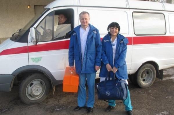 Первая бригада паллиативной помощи, сформированная в 2013 году