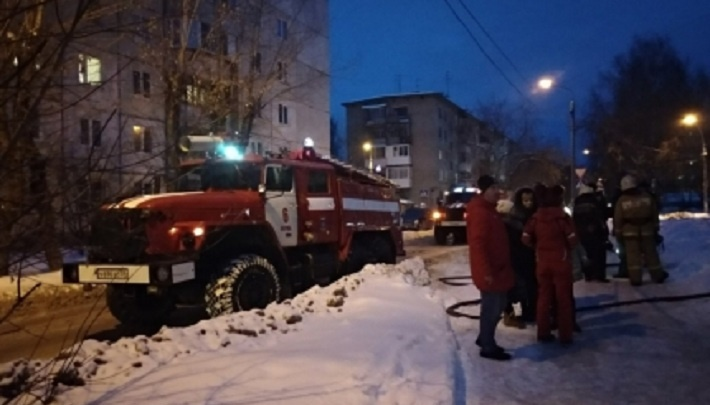 В Закамске на пожаре погибли мужчина и женщина