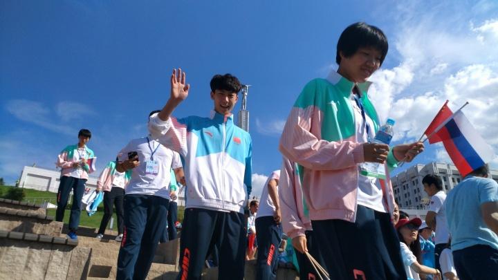 «Цзайцзиень!»: участники Российско-Китайских летних игр попрощались с Самарой