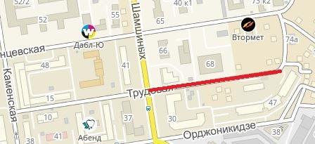 Парковаться будет нельзя на Трудовой отулицы Семьи Шамшиных до улицы Ольги Жилиной