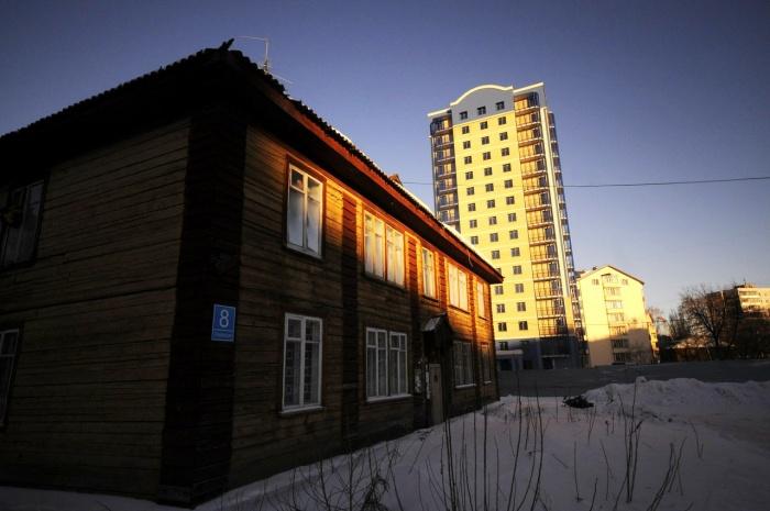 Ветхое и новое жильё в Академгородке