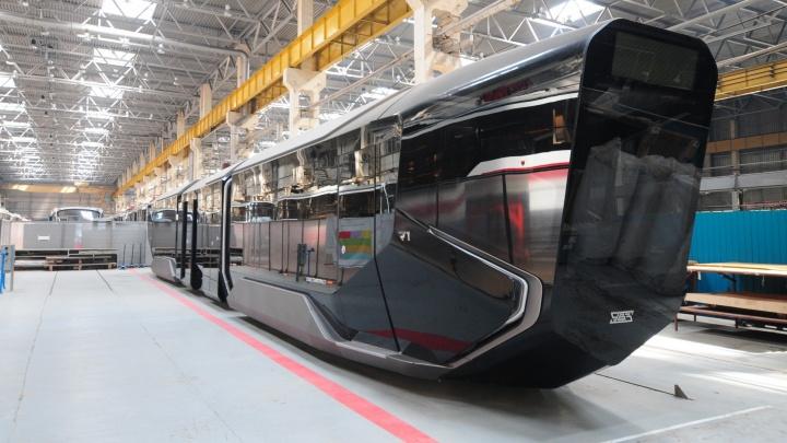 Власти Ингушетии заказали у Уралтрансмаша трамвай R1 за 85 миллионов рублей