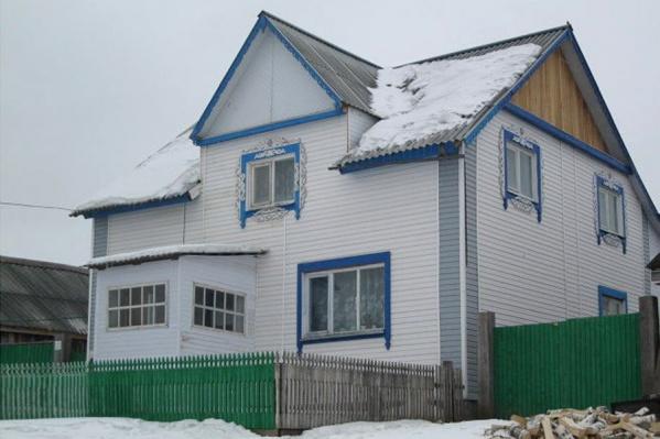 Так выглядел дом большой семьи до пожара