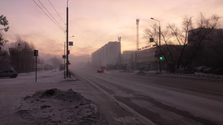 Затянуло пеленой: финишная прямая перед потеплением в Омске