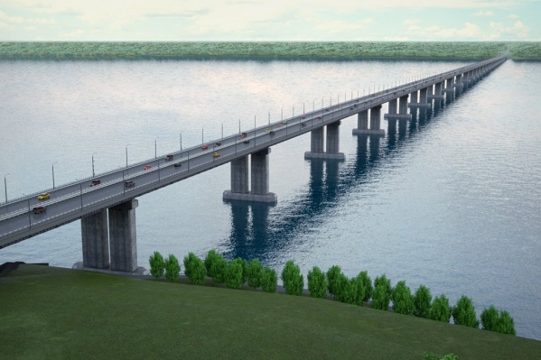 Протяженность моста составит 3,5 км