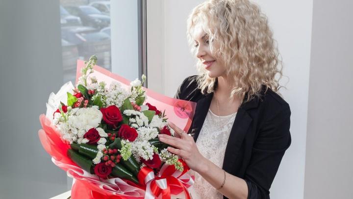 Как обмануть женскую логику, или Сюрприз для блондинки: репортаж ко Дню влюблённых