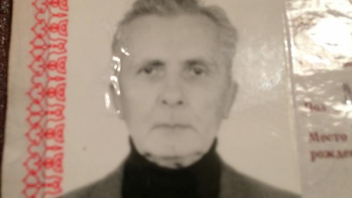 В Перми пропал 77-летний пенсионер, страдающий потерей памяти