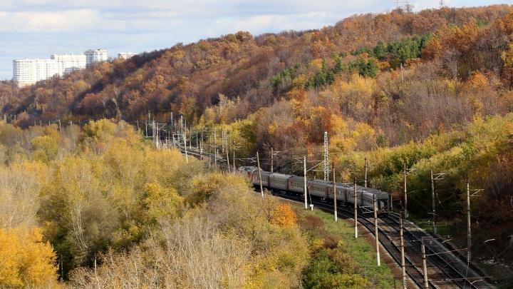 Поезд из Адлера в Уфу отменили из-за природного бедствия
