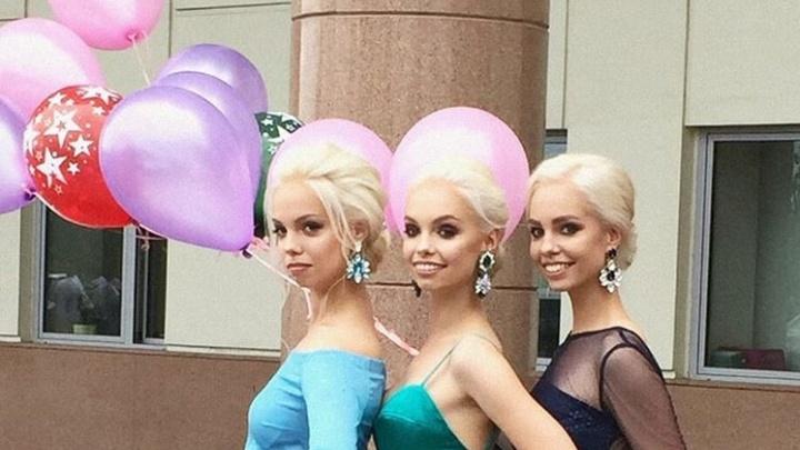 В Красноярске началась волна выпускных: любуемся на первых красавиц и выбираем лучший образ