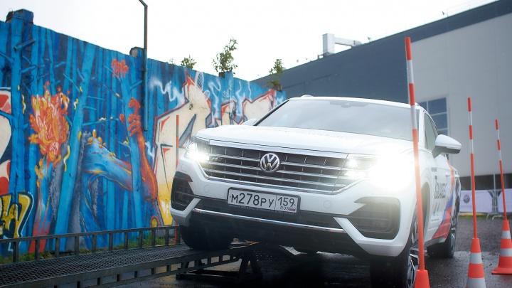Проходимость по всем фронтам: пермяки протестировали внедорожники Volkswagen в условиях офф-роуд