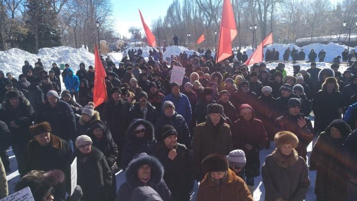 «Не согласуют митинг — выйдем на марш»: в Самаре анонсировали новую акцию против роста цен на ЖКХ