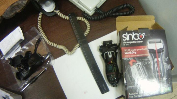 В пермское СИЗО пытались в электробритве пронести миниатюрный мобильный телефон