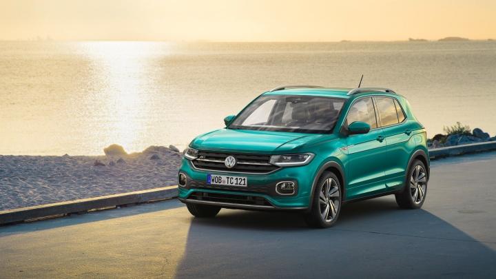 Volkswagen показал дешевый паркетник T-Cross размером сJuke