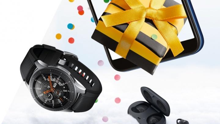 Билайн раздает подарки: от наушников до телевизора при покупке смартфонов Samsung Galaxy