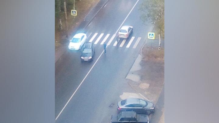 В Архангельске водитель сбил ребенка и уехал с места ДТП