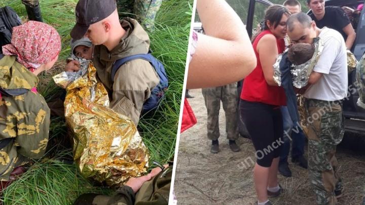 Появились первые фото спасённого Коли Бархатова