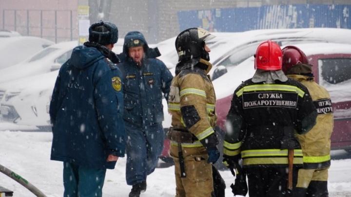 В Ростове произошел пожар у украинского консульства