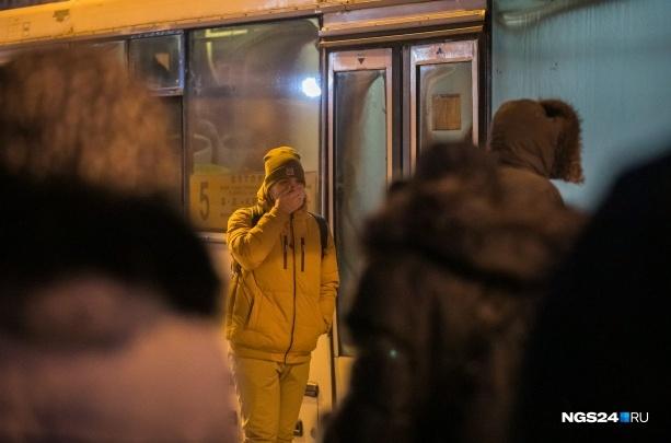 Из-за морозов автобусы сошли с линии на 7 маршрутах